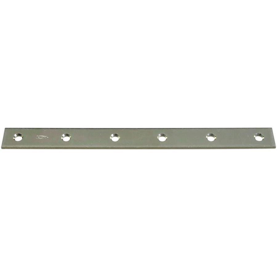 Stanley-National Hardware 12-in Zinc Corner Brace