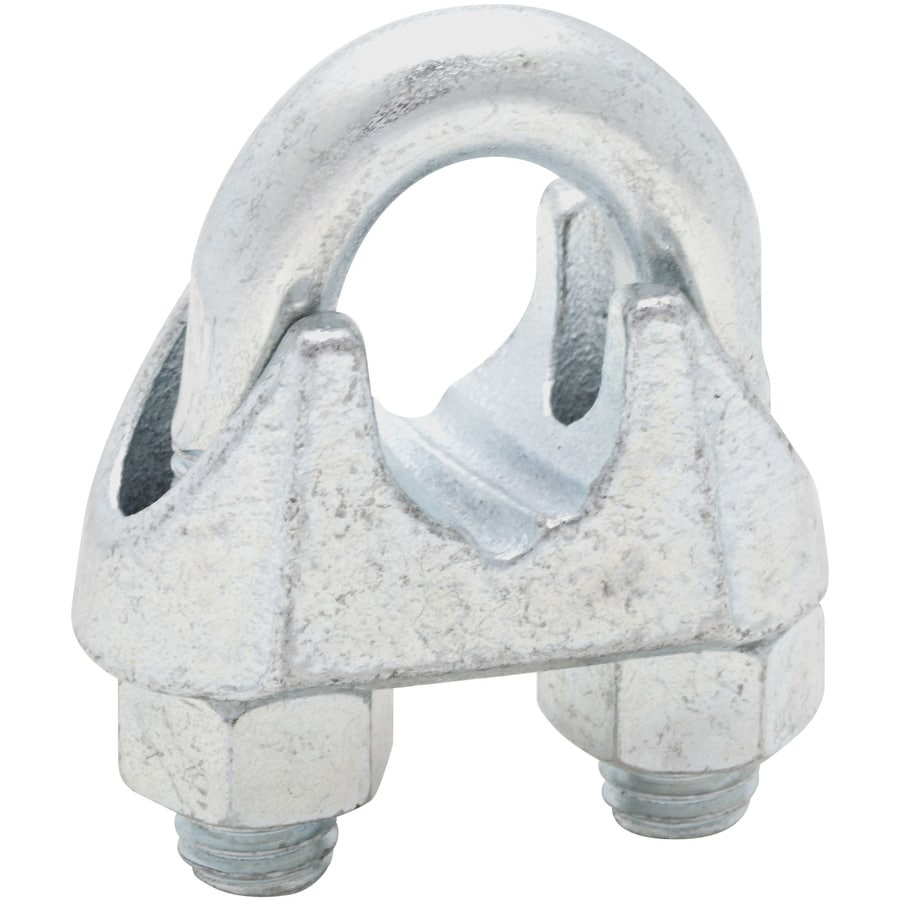 Shop Stanley-National Hardware Zinc Plated Wire Cable Clamps at ...