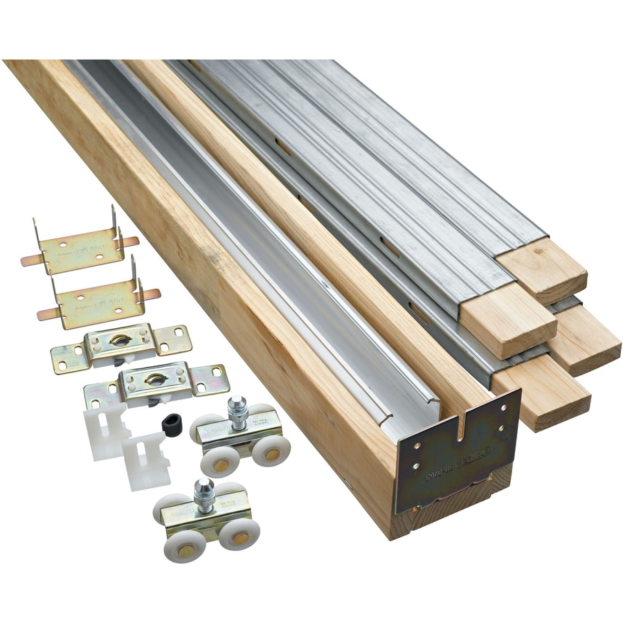 Shop National Hardware Pocket Door Track And Hardware Kit