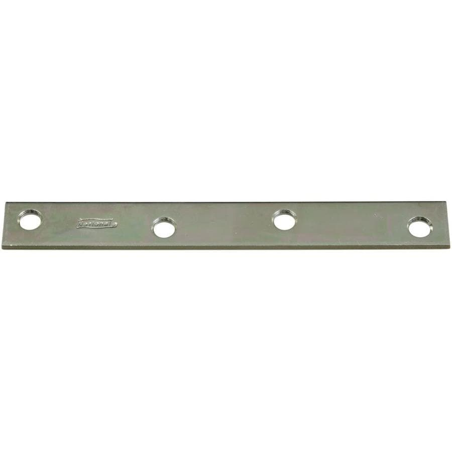Stanley-National Hardware 6-in Zinc Corner Brace