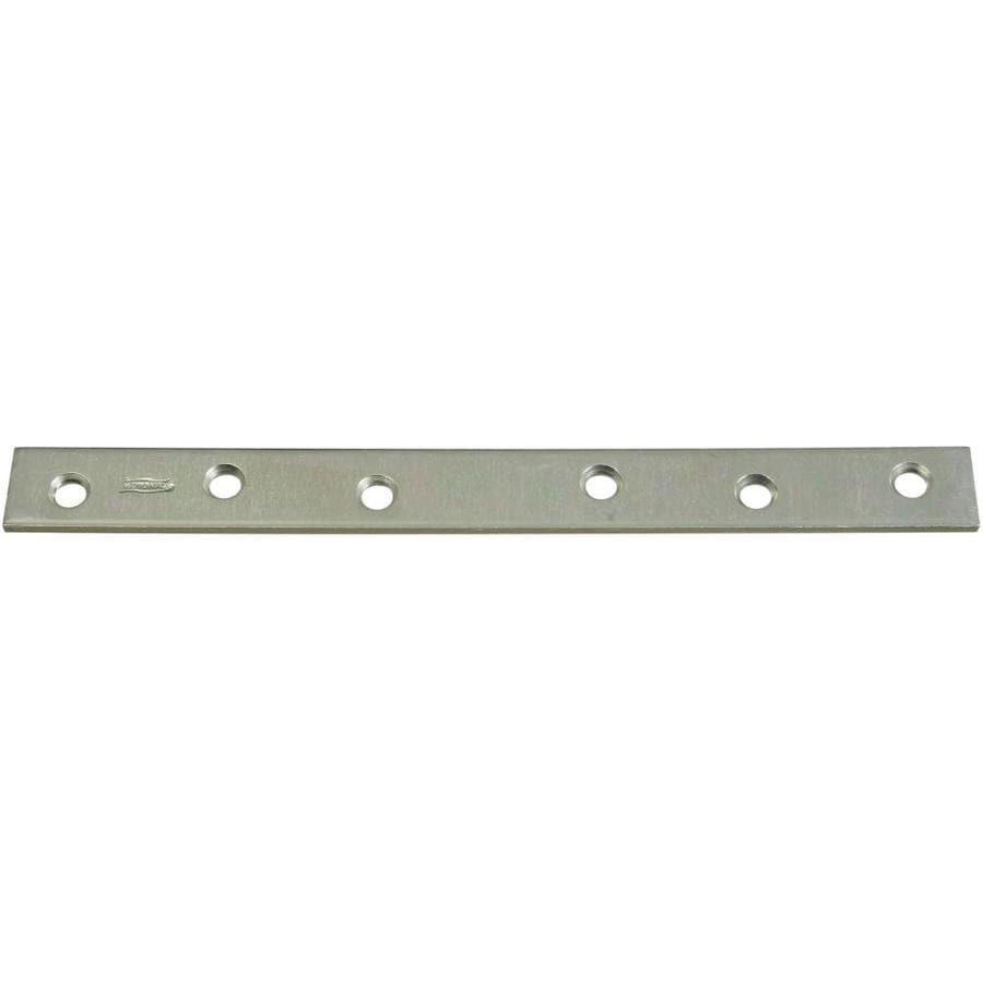 Stanley-National Hardware 10-in Zinc Corner Brace