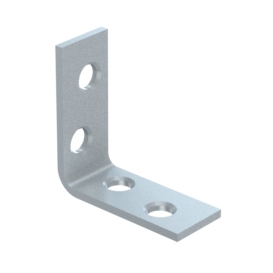 National Hardware 4-Pack 1.5-in Zinc Corner Brace