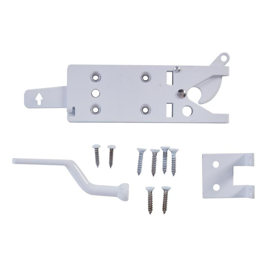 Stanley-National Hardware White Gate Latch