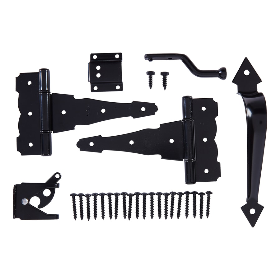 National Hardware Steel-painted Gate Hardware Kit