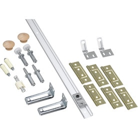 National Hardware 14 Piece Bifold Closet Door Hardware Kit