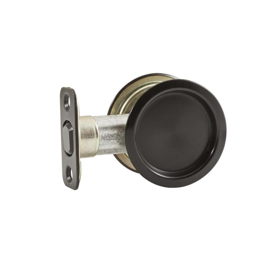 National Hardware 2.125-in Oil-Rubbed Bronze Pocket Door Pull