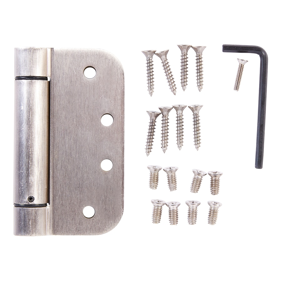 Door Hinges Product : Shop national hardware in h satin nickel radius