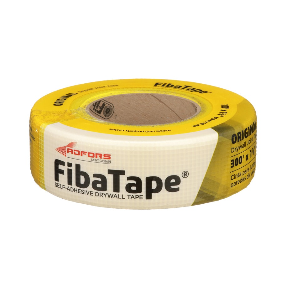 Saint-Gobain ADFORS FibaTape Yellow 1.875-in x 300-ft Mesh Construction Self-Adhesive Joint Tape