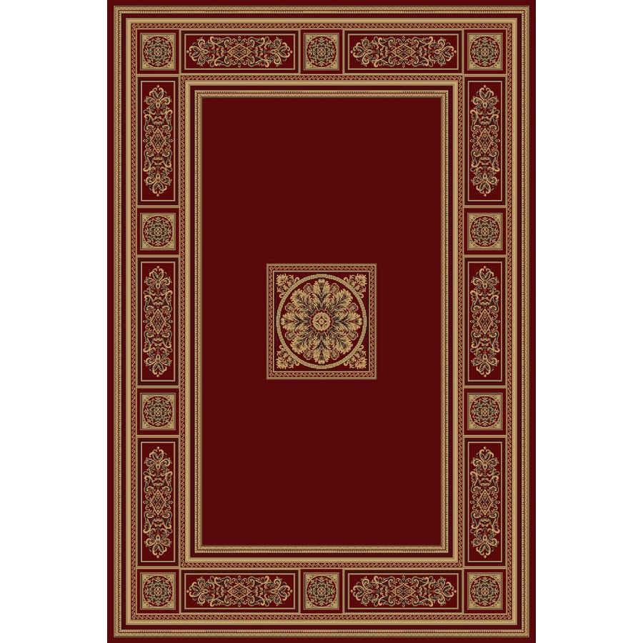Natco Chateaux 9-ft 10-in x 12-ft 9-in Rectangular Red Transitional Area Rug