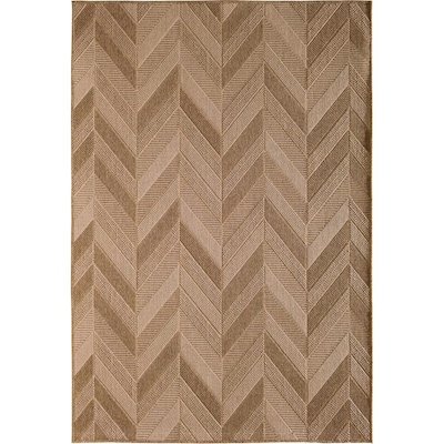 Natco Santorini Para Patch Mi Nat 7x10 Brown Indoor Outdoor