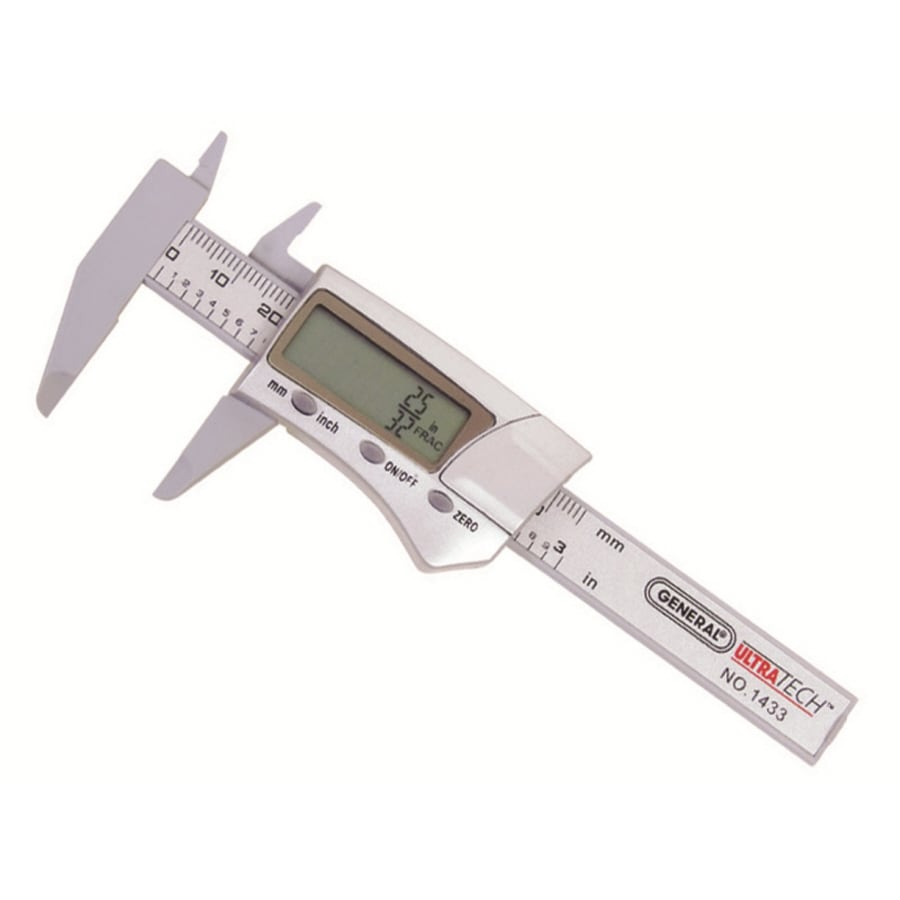Shop measuring tools at lowes general tools instruments 55 in digital caliper greentooth Images
