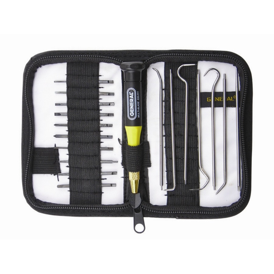 General Tools & Instruments Precision Screwdriver and Pick Set