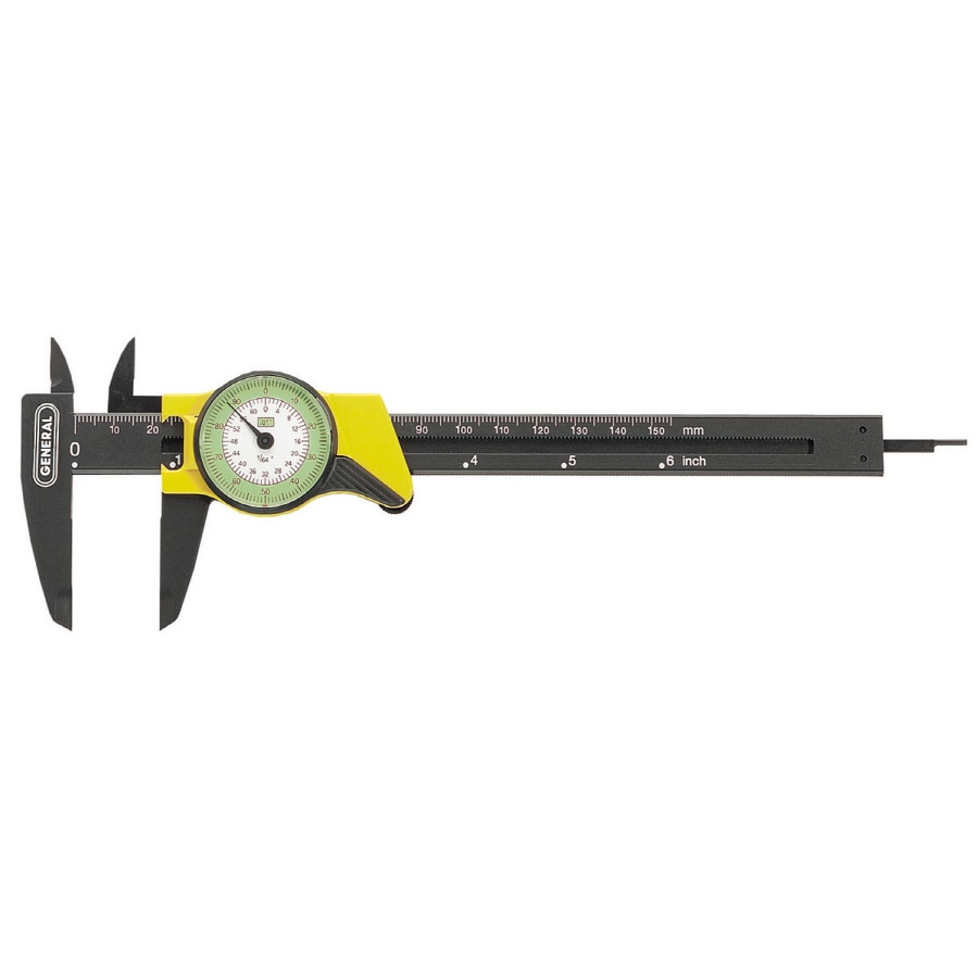 General Tools & Instruments 0.5-ft Metric and SAE Caliper