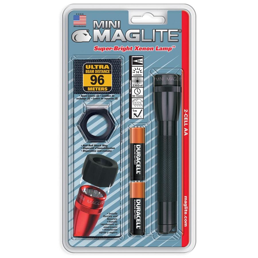 Maglite 14-Lumen Xenon Handheld Battery Flashlight