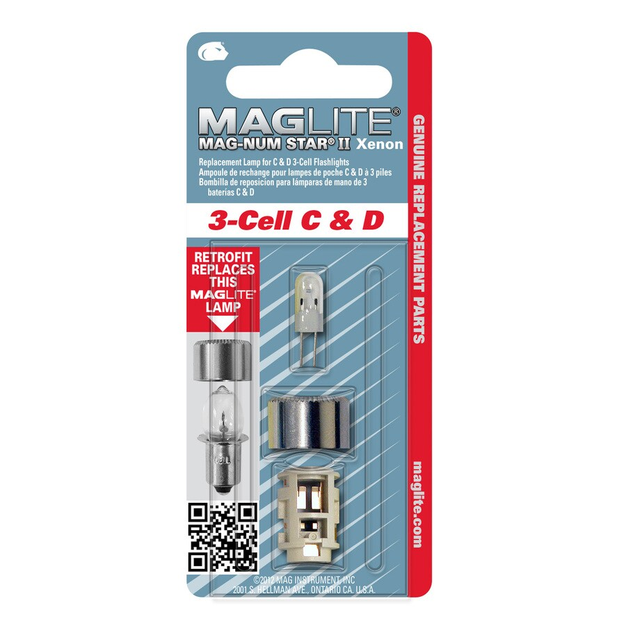 Maglite 4.5-Volt Xenon Flashlight Bulb