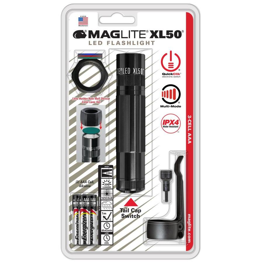 Maglite 200-Lumen LED Handheld Battery Flashlight (Battery Included)