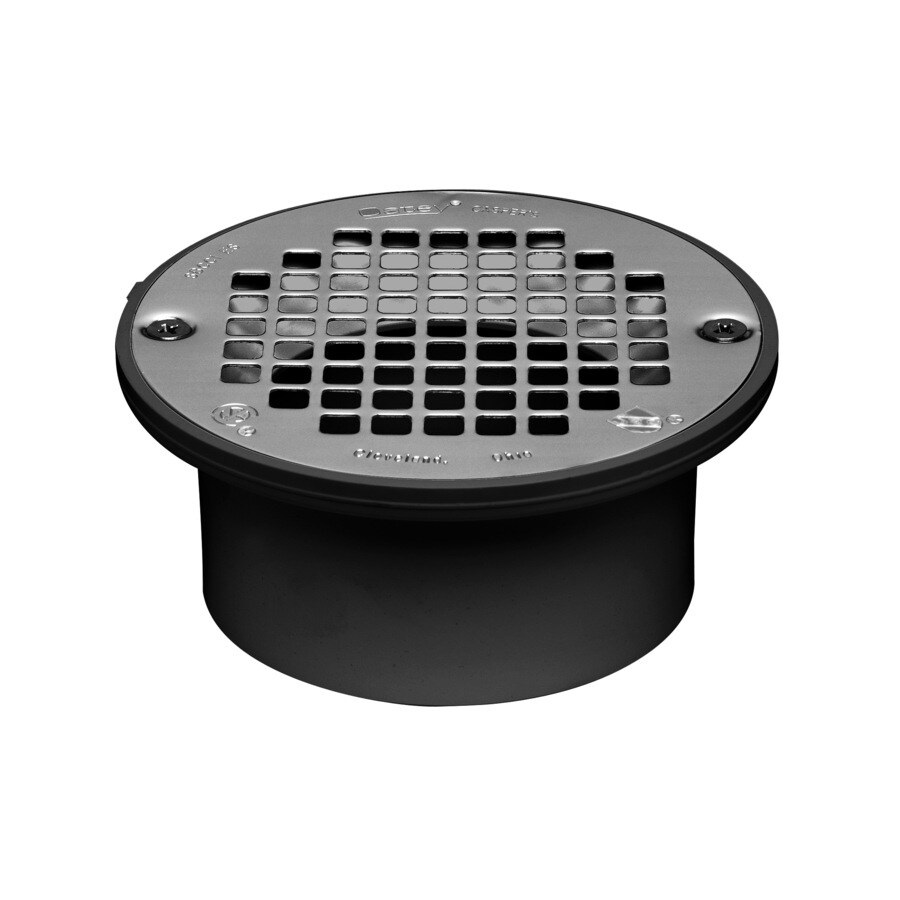 Oatey Fits Pipe Size 3-in and 4-in Dia Black ABS General-Purpose Drain