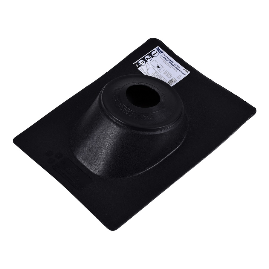 Oatey Thermoplastic 4-in x 16-in Plastic Vent and Pipe Flashing