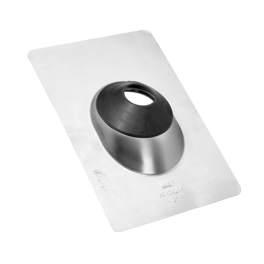 Oatey No-Calk 3-in x 14.5-in Aluminum Vent and Pipe Flashing