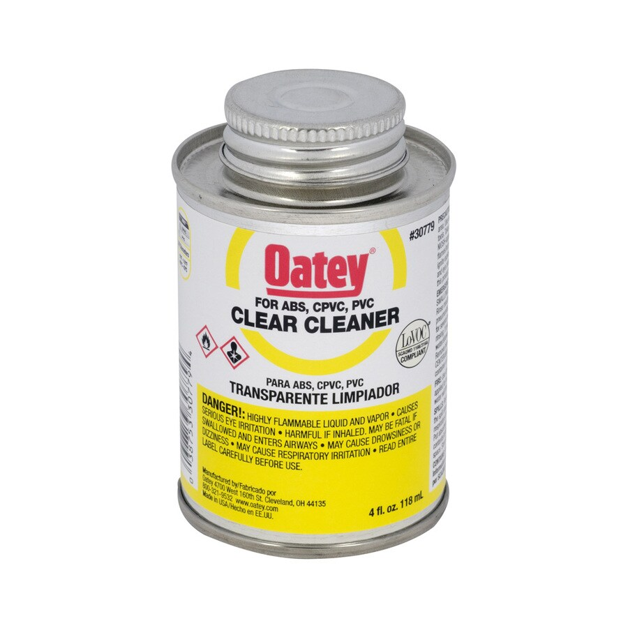 Oatey 4-fl oz LO-VOC Cleaner