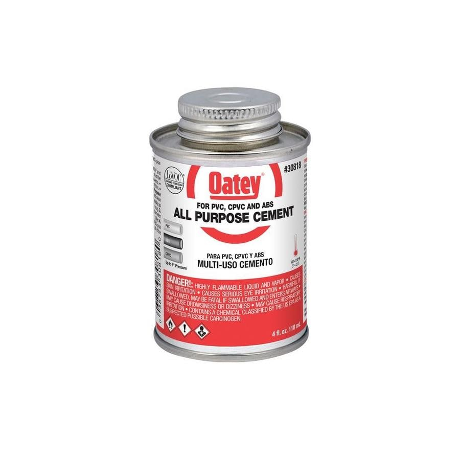 Oatey 4 fl oz LO-VOC All-Purpose