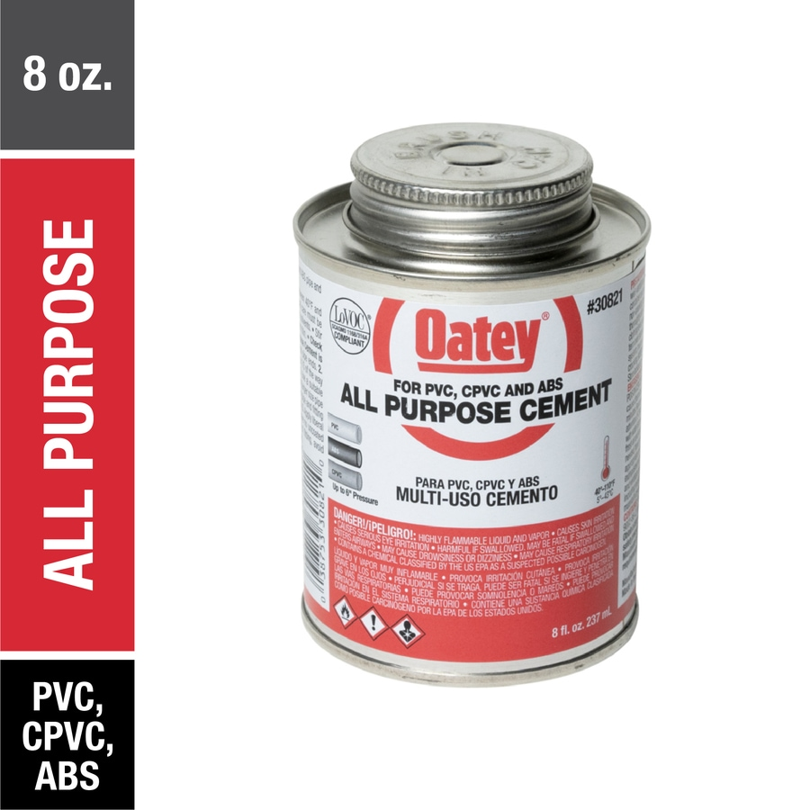 Oatey 8-fl oz All-Purpose Cement