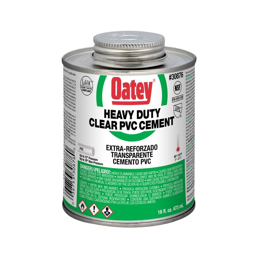 Oatey 16-fl oz Pvc Cement