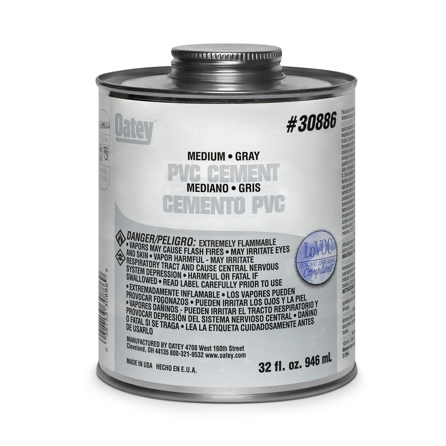 Oatey 4 fl oz PVC Cement