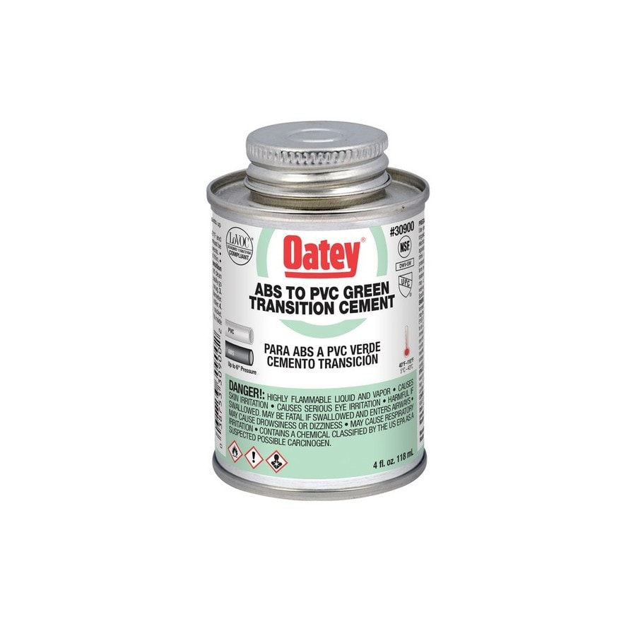Oatey 4-fl oz Pvc/Abs Transition Cement
