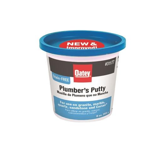 Oatey Stain Free White Plumbers Putty