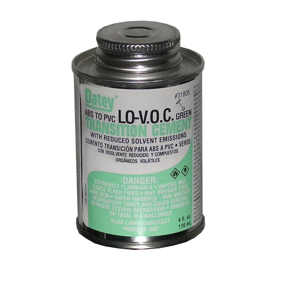 Oatey 4 fl oz PVC/Abs Transition Cement