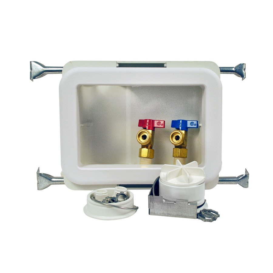 Oatey Quarter-Turn Ball Valve CPVC Washing Machine Outlet Box