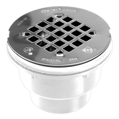 Pipe Size 2 In Dia Pvc Shower Drain