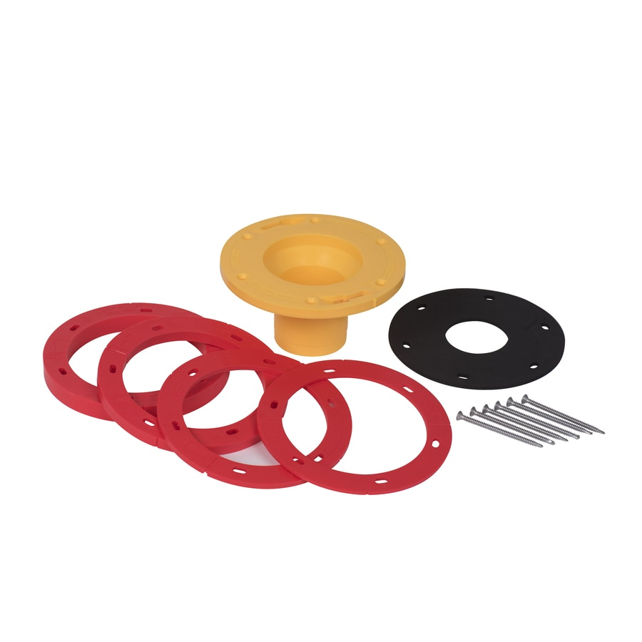 Oatey Set Rite 7.25 In Red PVC Toilet Flange Extender Kit