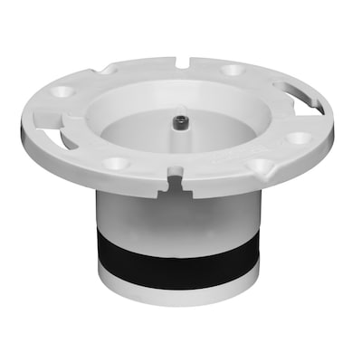 Oatey Closet Flange Replacement White PVC Flange at Lowes com