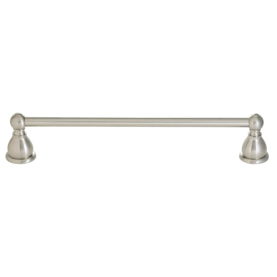 Pfister Conical Brushed Nickel Single Towel Bar (Common: 24-in; Actual: 26-in)