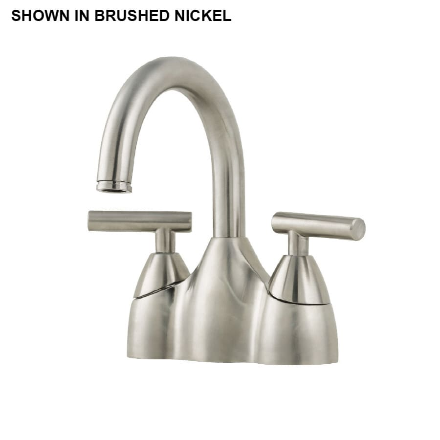 Shop Price Pfister Contempra Brushed Nickel 2-Handle WaterSense ...