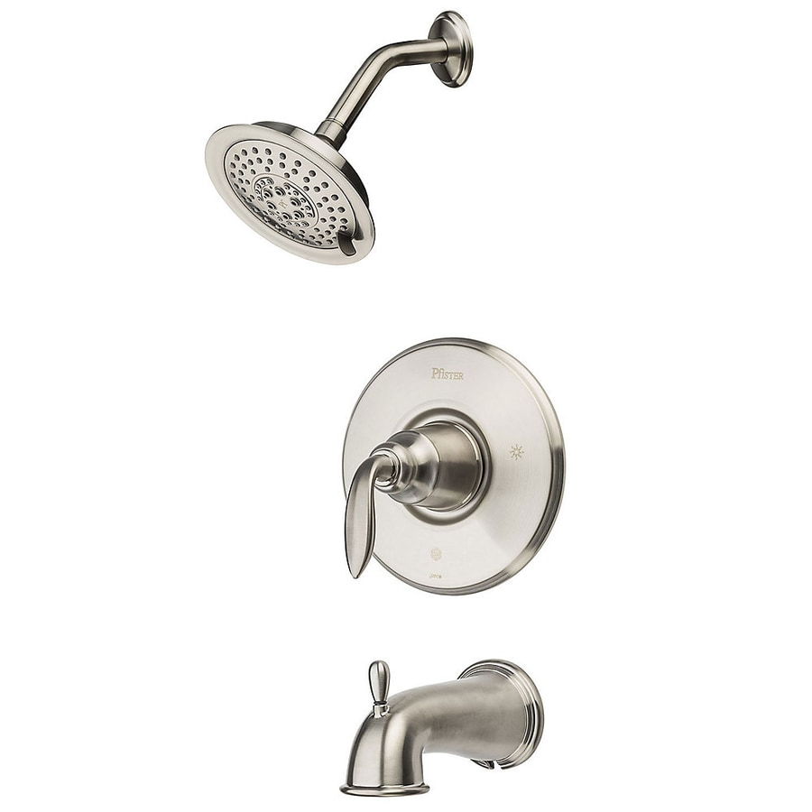 Shop Price Pfister Avalon Tub/Shower Brushed Nickel Trim Kit at ...