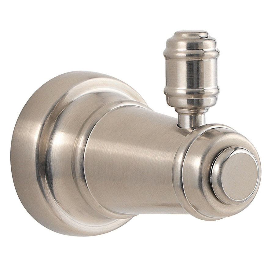 Pfister Ashfield 1-Hook Brushed Nickel Robe Hook