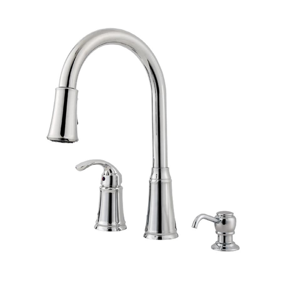 Pfister Lowe S Classic Polished Chrome 1 Handle Pull Down