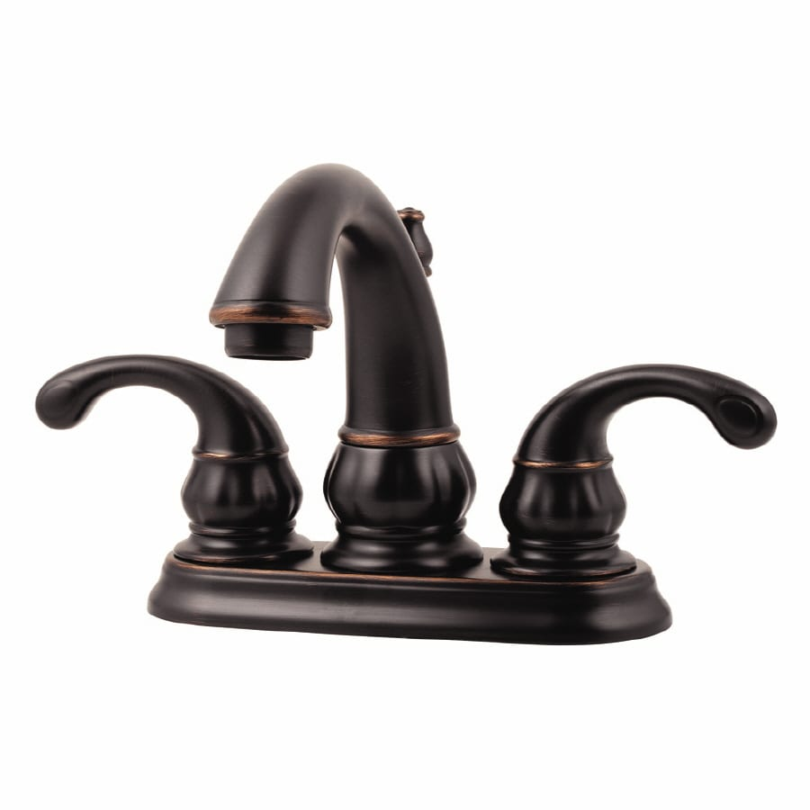 bronze handle pfister faucet sink in faucets ashfield tuscan bathroom p widespread