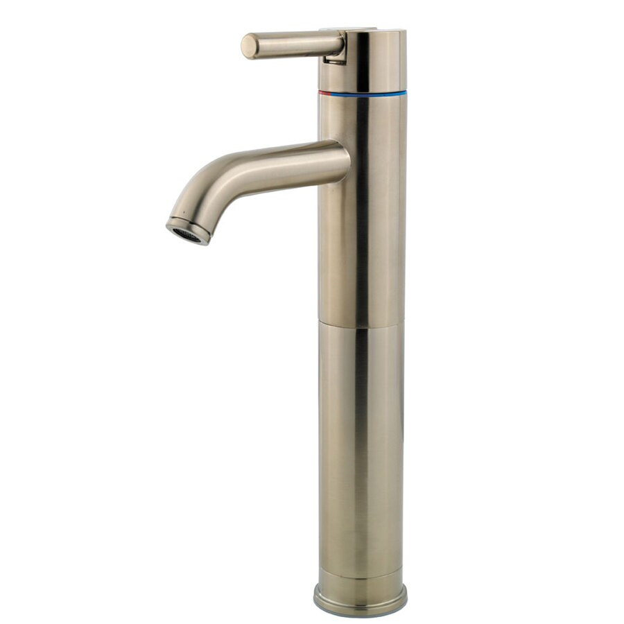 Pfister Contempra Brushed Nickel 1-Handle Single Hole WaterSense Bathroom Faucet
