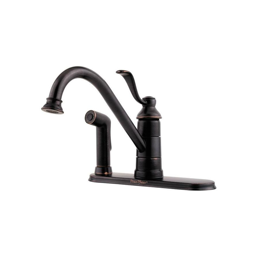 Pfister Portland Polished Chrome 1-Handle Low-Arc Kitchen Faucet