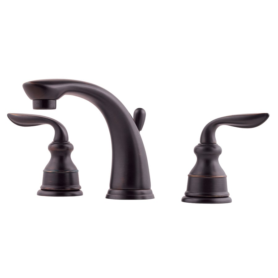 Pfister Faucets Bathroom: Shop Pfister Avalon Tuscan Bronze 2-Handle Widespread
