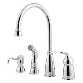 Delta Bellini Stainless 1 Handle Deck Mount High Arc Handle Kitchen Faucet In The Kitchen Faucets Department At Lowes Com