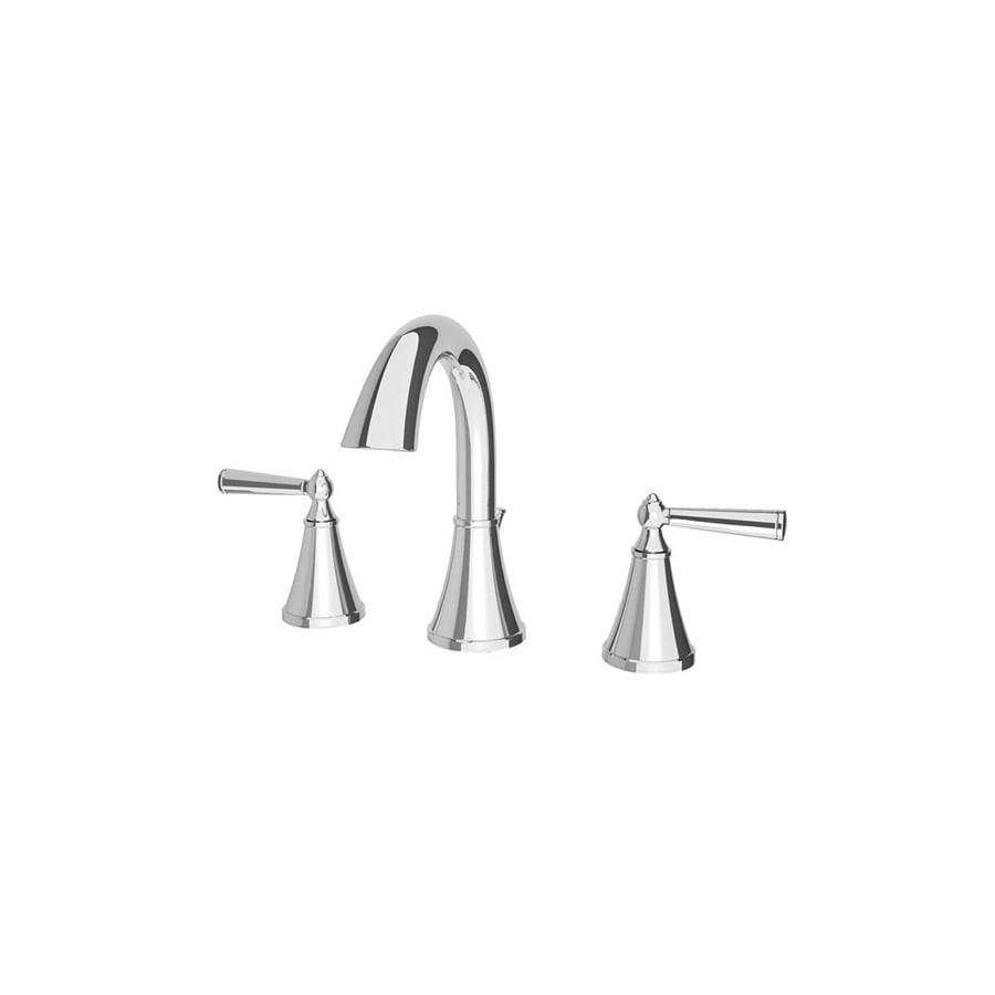 Pfister Saxton Polished Chrome 2-Handle Widespread WaterSense Bathroom Faucet (Drain Included)