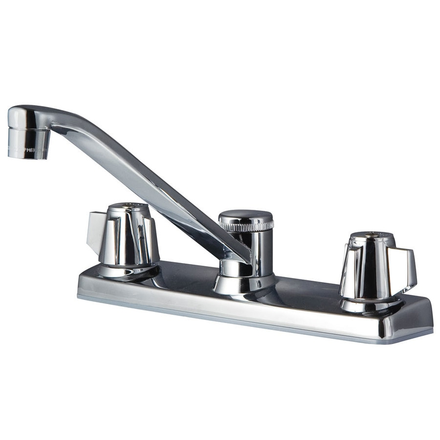 Shop Pfister Pfirst Polished Chrome 2 Handle Low Arc