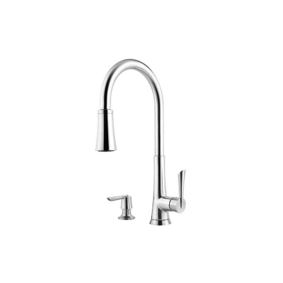 Pfister Mystique Polished Chrome 1-Handle Pull-Down Kitchen Faucet