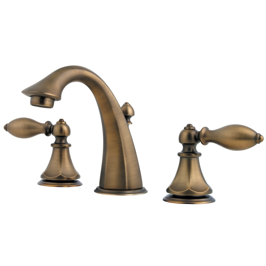 Pfister Catalina Velvet Aged Bronze 2-Handle Widespread WaterSense Bathroom Faucet (Drain Included)