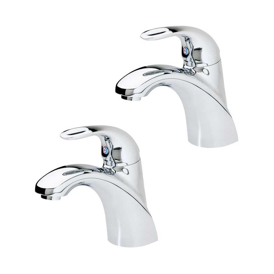Pfister Parisa Bathroom Faucet: Pfister Parisa Polished Chrome 1-handle 4-in Centerset